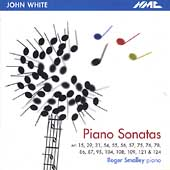 John White: Piano Sonatas / Roger Smalley