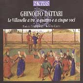 Dattari: Le Villanelle / Cascio, Fortuna Ensemble