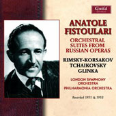 Orchestral Suites from Russian Operas -  Rimsky-Korsakov: Ivan the Terrible; Tchaikovsky: Tsarina's Slippers; Glinka: Ruslan and Ludmilla / London SO, Fistoulari