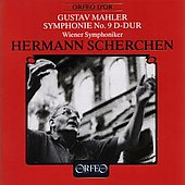 Mahler: Symphony no 9 / Scherchen, Vienna Symphony