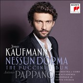 Nessun Dorma: The Puccini Album  [Deluxe Edition, bonus DVD Video] - Arias from Manon Lescaut, La Boheme, Tosca, Le Villi, Madama Butterfly & more / Jonas Kaufmann, tenor