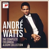 André Watts: The Complete Columbia Album Collection - Works by Chopin, Liszt, Franck, Brahms, Tchaikovsky, Beethoven, Schubert, Debussy, Gershwin and Rachmaninoff / Andre Watts, piano