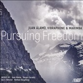 New Works for Solo Marimba and Percussion Ensemble - 'Persuing Freedom' / Juan Alamo, Marimba; UNC Percussion Ensemble