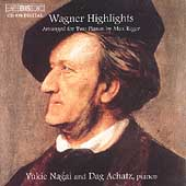 Wagner Highlights Arranged for Two Pianos / Nagai, Achatz