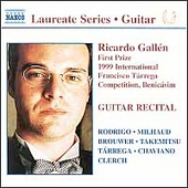 Laureate Series, Guitar - Ricardo Gallén