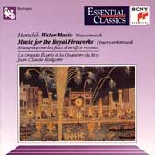 Handel: Water Music, Royal Fireworks, etc / Malgoire