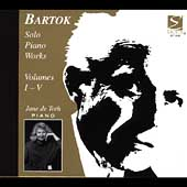 Bart&oacute;k: Solo Piano Works Vol 1-5 / June de Toth