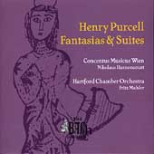Purcell: Fantasias & Suites / Harnoncourt, Mahler, et al