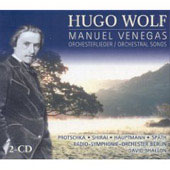 Wolf: Manuel Venegas, Orchestral Songs / Shallon, et al