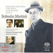 Martinu: Rhapsody for Viola, etc / Conlon, et al