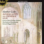 The English Orpheus Vol 3 - Locke: Anthems, Motets, etc