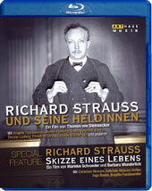 Richard Strauss and his Heroines - Interview & performances by Brigitte Fassbaender, Renée Fleming, Gwyneth Jones, Christ Ludwig / Bonus documentary: Sketch of a Life [Blu-ray]