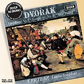 Dvorak: Symphonies no 8 & 9 / Kertesz, London Symphony