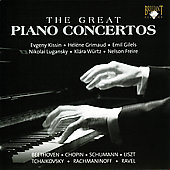 The Great Piano Concertos / Kissin, Gilels, Grimaud, et al