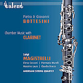 Bottesini: Chamber Music with Clarinet / Magistrelli, et al
