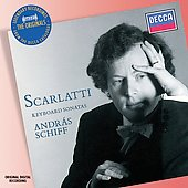 The Originals - Scarlatti: Keyboard Sonatas / Andr&aacute;s Schiff