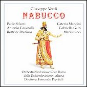 Paperback Opera - Verdi: Nabucco / Previtali, Silveri, et al