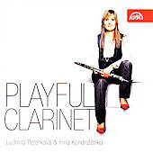 Playful Clarinet - Bach, Bizet etc / Peterková