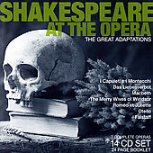 Shakespeare at the Opera - Verdi: Otello, etc [14 CDs]