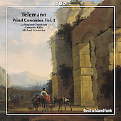 Telemann: Wind Concertos, Vol 1 / Schneider, et al