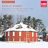 American Classics - Barber: String Quartet, Serenade, Songs, etc / Thomas Allen, Roger Vignoles, Endellion String Quartet
