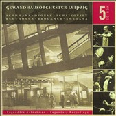 Legendary Recordings of Gewandhausorchester Leipzig [Box Set]