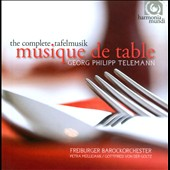 Georg Philipp Telemann: Musique de Table