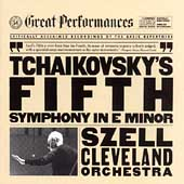 Tchaikovsky: Symphony no 5 / Szell, Cleveland Orchestra