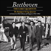 Beethoven: The Early String Quartets / Budapest String Quartet