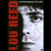 Lou Reed: Live Performances 1972 [DVD]