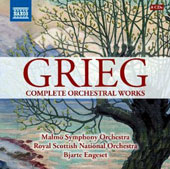Grieg: Complete Orchestral Works /  Bjarte Engeset, Royal Scottish Nat'l Orch. Malmö SO [8 CDs]