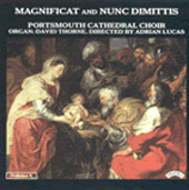 Magnificat and Nunc Dimittis Vol 4 / Adrian Lucas