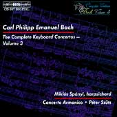 C.P.E. Bach: Complete Keyboard Concertos Vol 3 / Sp&#225;nyi