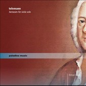 Telemann: Fantasies for Viola Solo / Firmian Lermer, viola