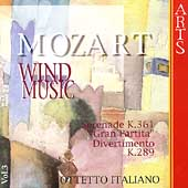 Mozart: Wind Music Vol 3 - Gran Partita / Ottetto Italiano