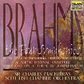 Brahms: The Four Symphonies, etc / Mackerras, Scottish CO