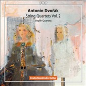 Antonin Dvorak: String Quartets, Vol. 2 - Quartet no 4; Quartets Opp. 105 & 106 / Vogler Quartet