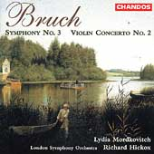 Bruch: Symphony no 3, Violin Concerto no 2 / Hickox, et al