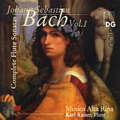 Bach: Complete Flute Sonatas Vol 1 /Kaiser, Musica Alta Ripa