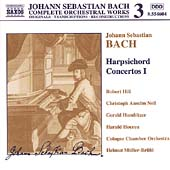 Naxos Bach Edition 3 - Bach: Harpsichord Concertos I / Hill
