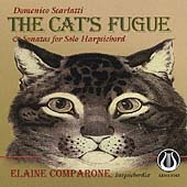Scarlatti: The Cat's Fugue, Sonatas / Elaine Comparone