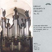 Great European Organs Vol 52 - Boely, etc / Gerard Brooks