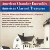 American Clarinet Treasures / American Chamber Ensemble