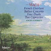 Bach: French Overture, Italian Concerto, etc / Angela Hewitt