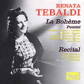 Puccini: La Boh&egrave;me;  Arias / Erede, Tebaldi, et al