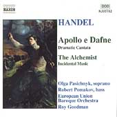 Handel: Apollo e Dafne, The Alchemist / Goodman, et al