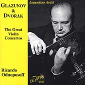Dvorák, Glazunov: The Great Violin Concertos / Odnoposoff