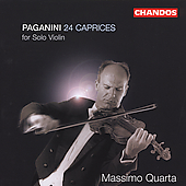 Paganini: 24 Caprices for Solo Violin / Massimo Quarta