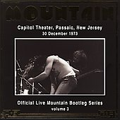 Mountain: Official Bootleg Series, Vol. 3: Live at Capitol Theatre, NJ