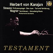 Strauss: Till Eulenspiegel, etc;  Wagner / Karajan, et al